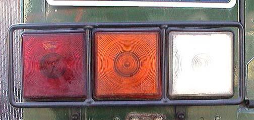 1995 Land Rover Defender >> Land Rover Defender 90 110 Factory Genuine OEM Rear Lamp Guards STC1373