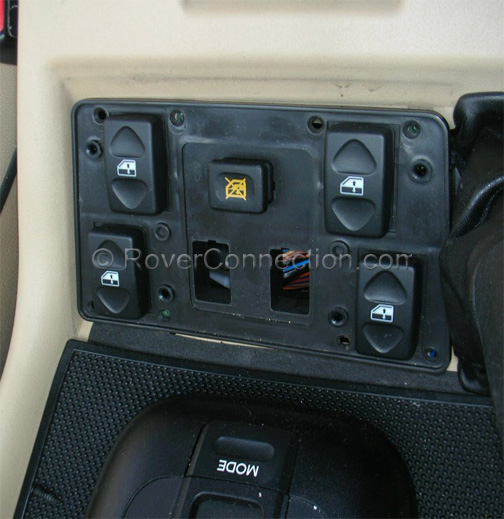 Purchase Used 2003 Land Rover Discovery Se Se 7 Sport: [2003 Land Rover Range Rover Seat Heater Control Cover