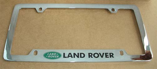 rover connection land range discovery freeladner license plate frame