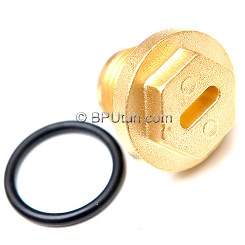 Land Range Rover Discovery Brass Differential Filler Plug