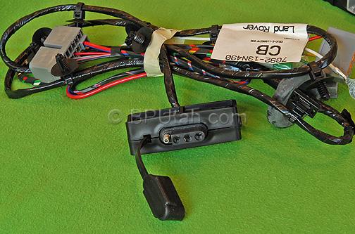 land rover lr2 towing trailer wiring harness vplft0003. Black Bedroom Furniture Sets. Home Design Ideas