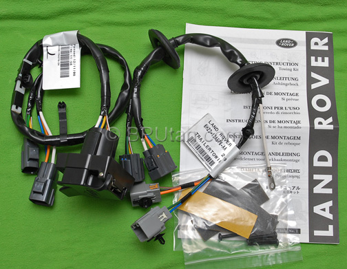 land rover lr3 tow hitch trailer wiring wire harness electric ywj500220 new oem