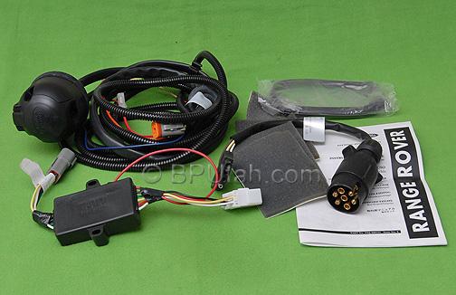 land rover lr3 genuine oem trailer wiring harness. Black Bedroom Furniture Sets. Home Design Ideas
