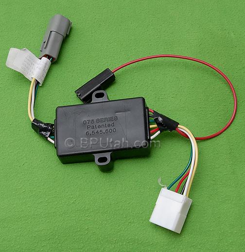 land rover lr3 genuine oem trailer wiring harness