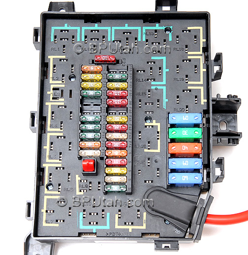 range rover p38a 4 0  4 6 genuine oem factory fuse box Chevy Fuse Box Range Rover Fuse Box AMR6405 C