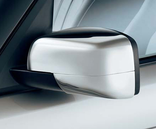 Range Rover LR2 Lower Chrome Side Mirror Covers