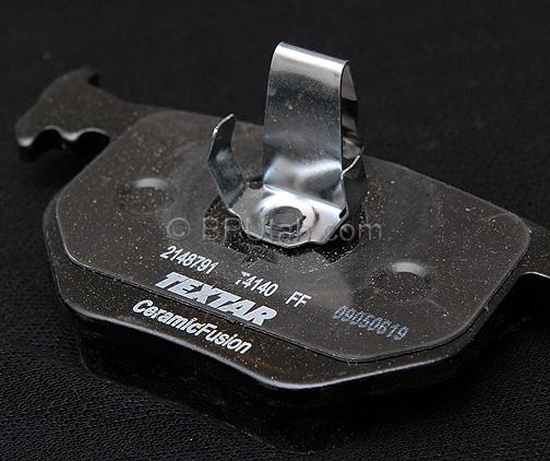 Land Rover Range Rover 03 04 05 Rear Brake Rotors Pads: Range Rover Factory Genuine OEM Ceramic Fusion Textar