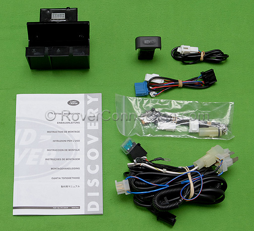 Land Rover Discovery >> Land Rover Discovery Genuine OEM Factory Driving Fog Lamp Wiring Harness Kit