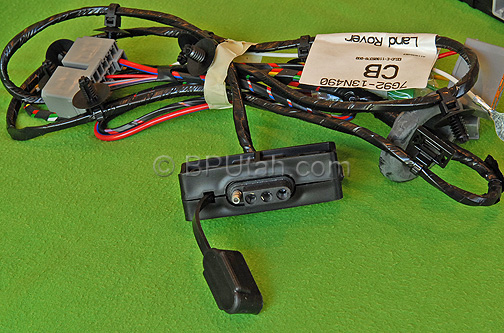 Land Rover Lr2 Towing Trailer Wiring Harness Vplft0003 Vplft0107